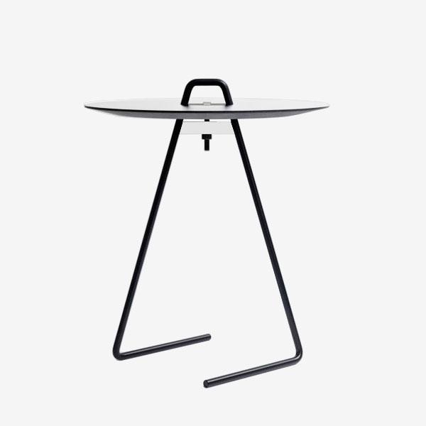 MOEBE / SIDE TABLE(White Top)【サイドテーブル/ホワイトトップ/ムーベ/デンマーク/インテリア】[112492