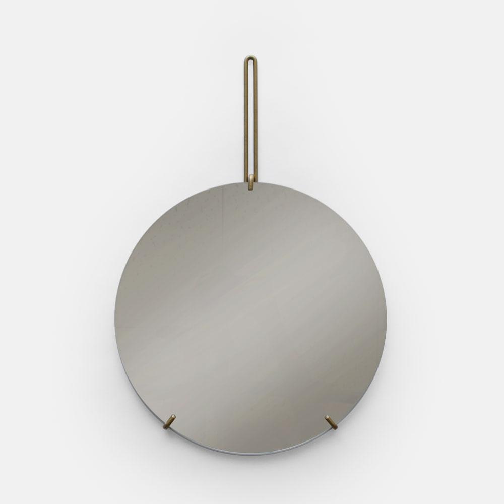 MOEBE / WALL MIRROR 30cm(Brass)【ウォールミラー/鏡/デンマーク/インテリア/ブラス/真鍮】[113098