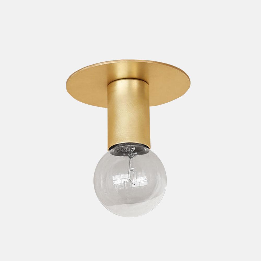 BP. / A06-D-BR / E26 LAMP HOLDER (SOLID BRASS)【※要電気工事】【BLUE PRINT/ランプホルダー/照明/真鍮】[113943