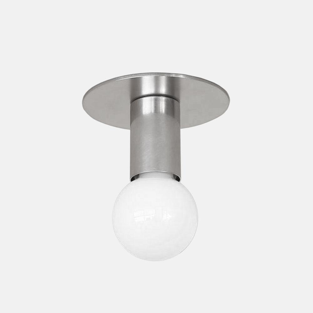 BP. / A06-D-NK / E26 LAMP HOLDER (NICKEL PLATING)【※要電気工事】【BLUE PRINT/ランプホルダー/照明/ニッケル】[113944