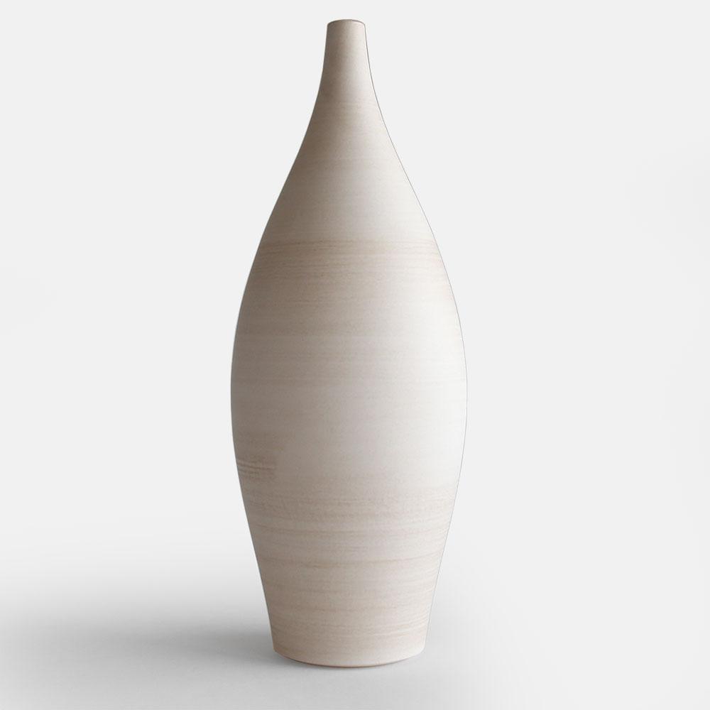 3RD CERAMICS[サードセラミックス] / フラワーベース L【flower vase/花瓶/花器/轆轤/美濃焼】[113535