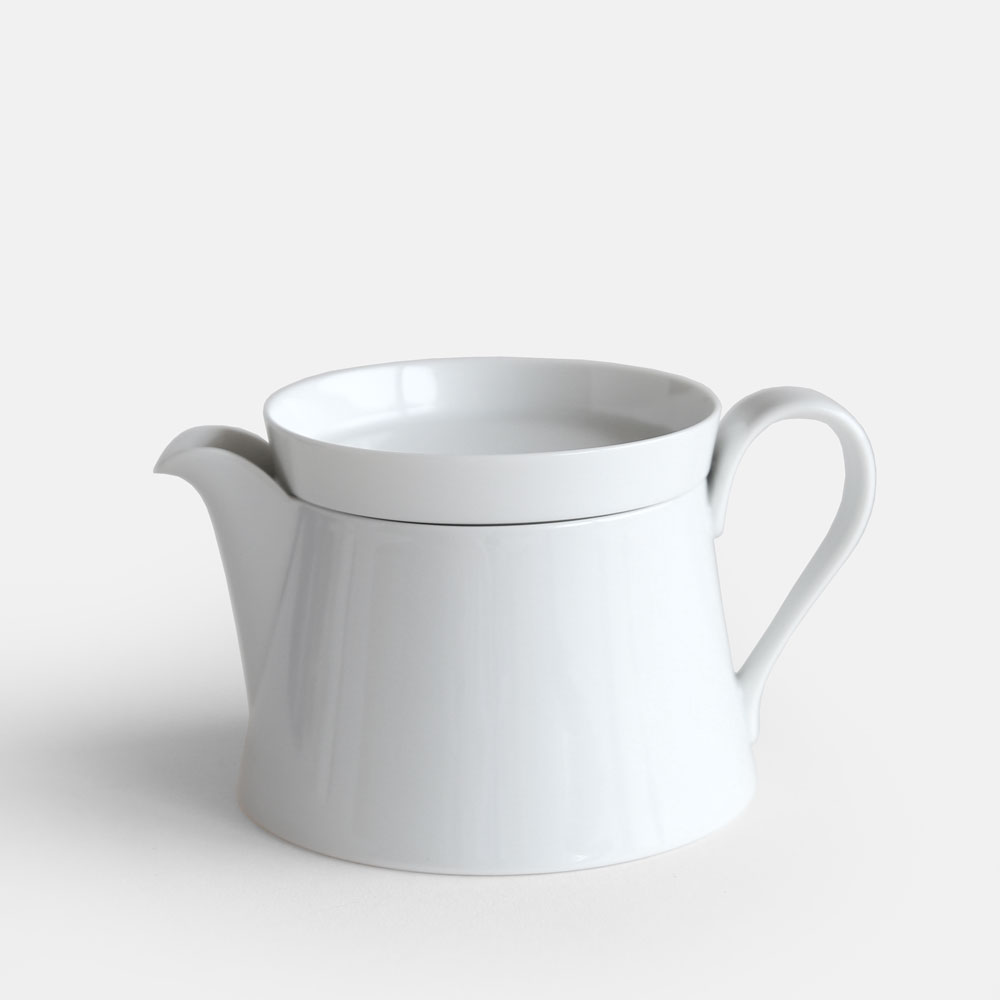 2016/ / IR/033 Tea Pot S (White collection)【arita/ニーゼロイチロク/ティーポット/有田焼/インゲヤードローマン/Ingegerd Raman/香蘭社/ホワイトコレクション】[113819