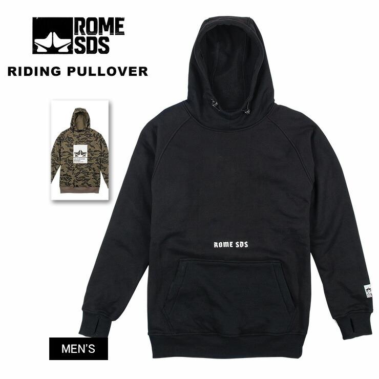 ROME ローム RIDING PULLOVER ライディングプルオーバー 2019 ウェア スノーウェア スキーウェア【ぼーだまん】
