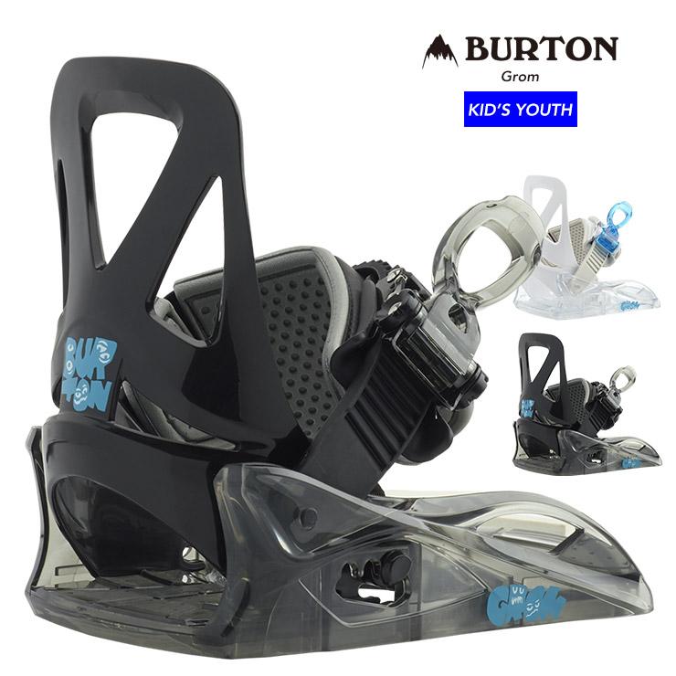 19-20 BURTON バートン キッズ Grom グロム ビンディング バインディング 子供 スノーボード【ぼーだまん】