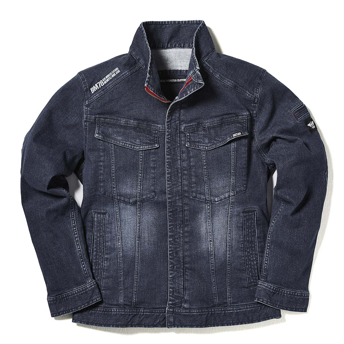 427048665e9 Joke big size cord blue   cord navy M-3L where work jacket stretch denim men  MWB BM78 Urban third jacket riders jacket   denim jacket   work jacket  working ...