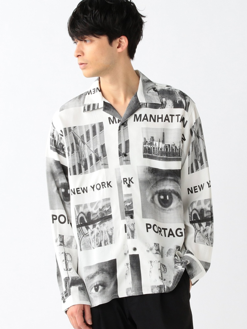 [Rakuten Fashion]Manhattan Portage / WOVEN SHIRT BEAMS ビームス B:MING by BEAMS ビーミング ライフストア バイ ビームス シャツ/ブラウス 長袖シャツ ホワイト【送料無料】