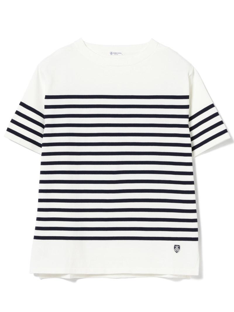 [Rakuten BRAND AVENUE]ORCIVAL / 天竺 ボーダー Tシャツ BEAMS B:MING by BEAMS ビーミング ライフストア バイ ビームス カットソー【送料無料】