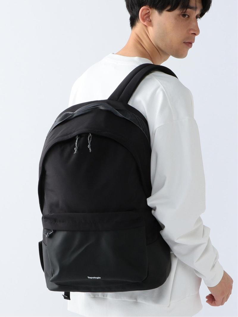 [Rakuten Fashion]Topologie / BLOCK BACKPACK BEAMS ビームス B:MING by BEAMS ビーミング ライフストア バイ ビームス バッグ リュック/バックパック ブラック カーキ【送料無料】
