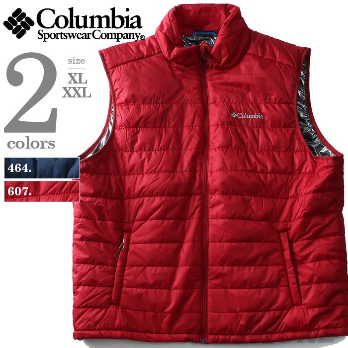 【大きいサイズ】【メンズ】Columbia(コロンビア) ナイロンベスト OMNI-HEAT【USA直輸入】xm0041