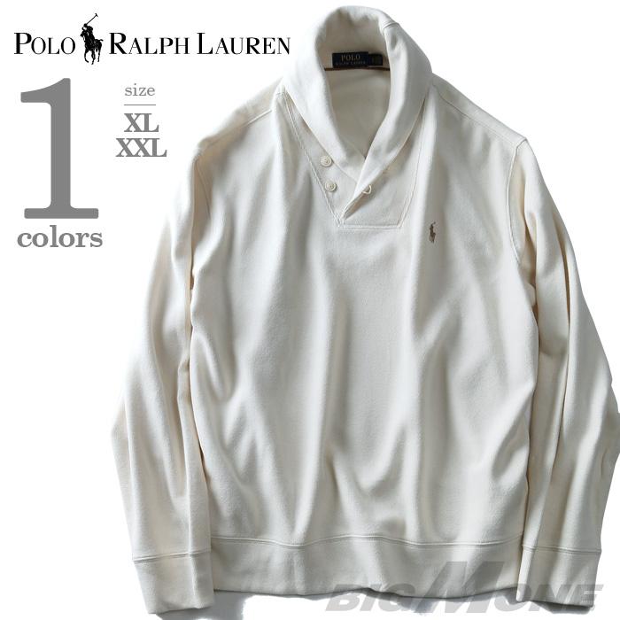 大きいサイズ メンズ POLO RALPH LAUREN(ポロ ラルフローレン) ショールカラーセーター【USA直輸入】710675687003