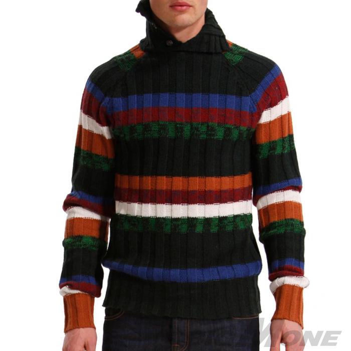 大きいサイズ メンズ [XL・XXL・3XL]DESIGUAL(デシグアル) デザインセーター(Ulover) 38j1103