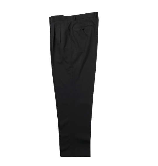 【大きいサイズ】【メンズ】 Mc.S.P ウォッシャブルツータックパンツ ブラック 1174-9151-1 [105・110・115・120・130・140・150・160]