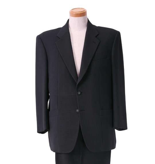 大きいサイズ メンズ シングル2ツ釦切替スーツ グレー 1122-5312-1 [2L・3L]