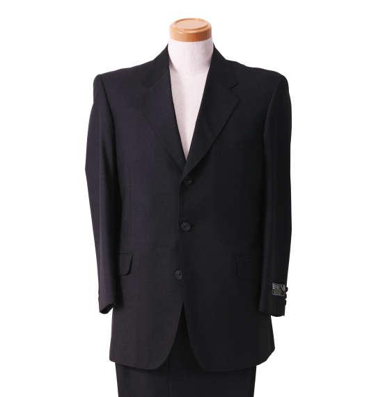 大きいサイズ メンズ シングル3ツ釦スーツ チャコールグレー 1122-5353-1 [2L・3L・4L]