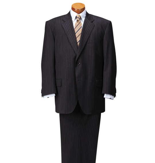 大きいサイズ メンズ MICHIKO LONDON KOSHINO シングル2ツ釦スーツ チャコール 1152-6301-2 [4L・5L・6L・7L・8L]