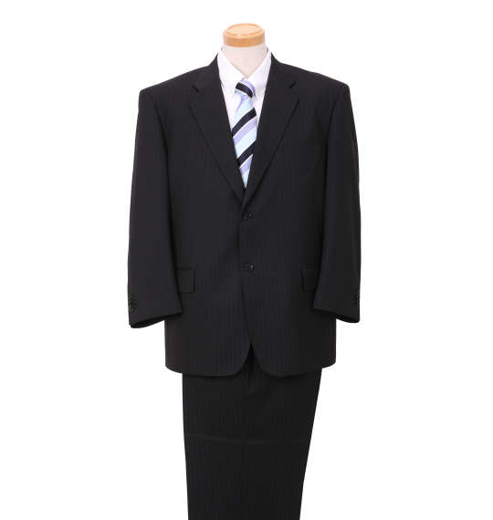 【大きいサイズ】【メンズ】 MICHIKO LONDON KOSHINO シングル2ツ釦スーツ ネイビー 1152-8302-1 [4L・5L・6L・7L・8L]
