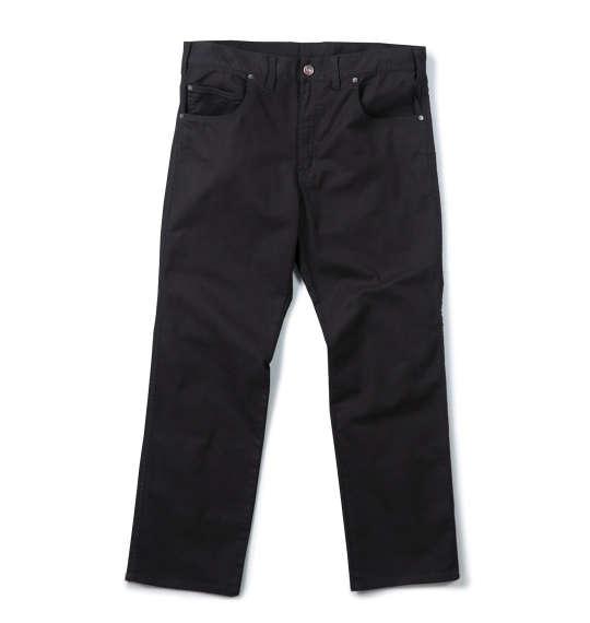 大きいサイズ メンズ Mc.S.P カツラギストレッチ合皮使いパンツ ブラック 1154-5300-2 [100・110・120・130・140・150・160]