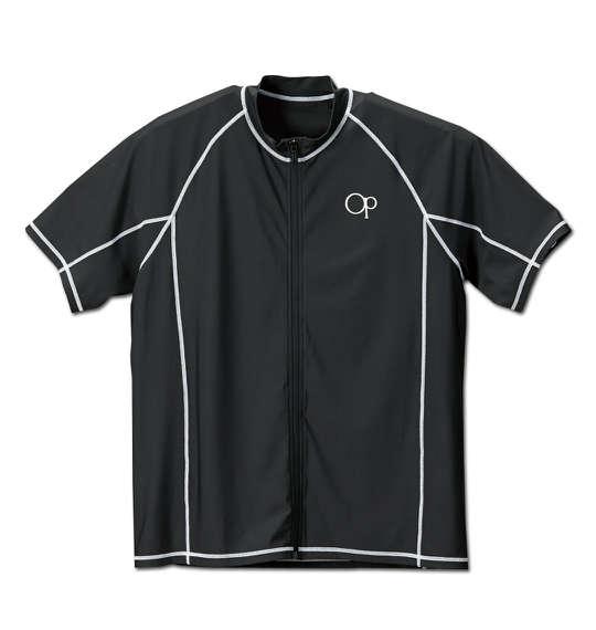 大きいサイズの服 大きいサイズ メンズ メンズファッション スーパーSALE セール期間限定 ファッション 3L 期間限定送料無料 4L 5L 6L 7L 8L 半袖 半そで ブラック 半袖Tシャツ カジュアル Tシャツ プリント ストリート おしゃれ PACIFIC 半袖フルジップラッシュガード OCEAN 1168-5251-2 クールビズ