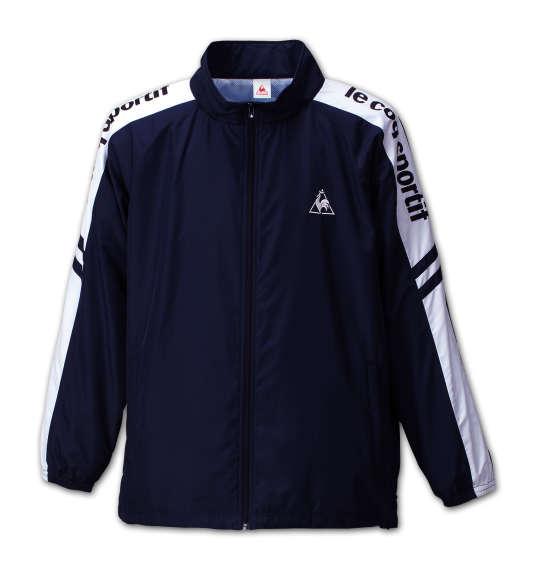 大きいサイズ メンズ LE COQ SPORTIF ウインドジャケット ネイビー 1176-6300-1 [3L・4L・5L・6L]