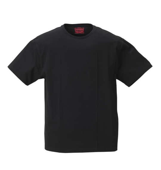 半袖Tシャツ 大きいサイズ メンズ Levi's 2Pクルーネック ブラック 1178-8580-2 [2L・3L・4L・5L・6L・8L]