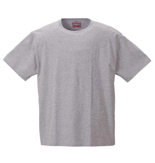 半袖Tシャツ 大きいサイズ メンズ Levi's 2Pクルーネック モクグレー 1178-8580-3 [2L・3L・4L・5L・6L・8L]