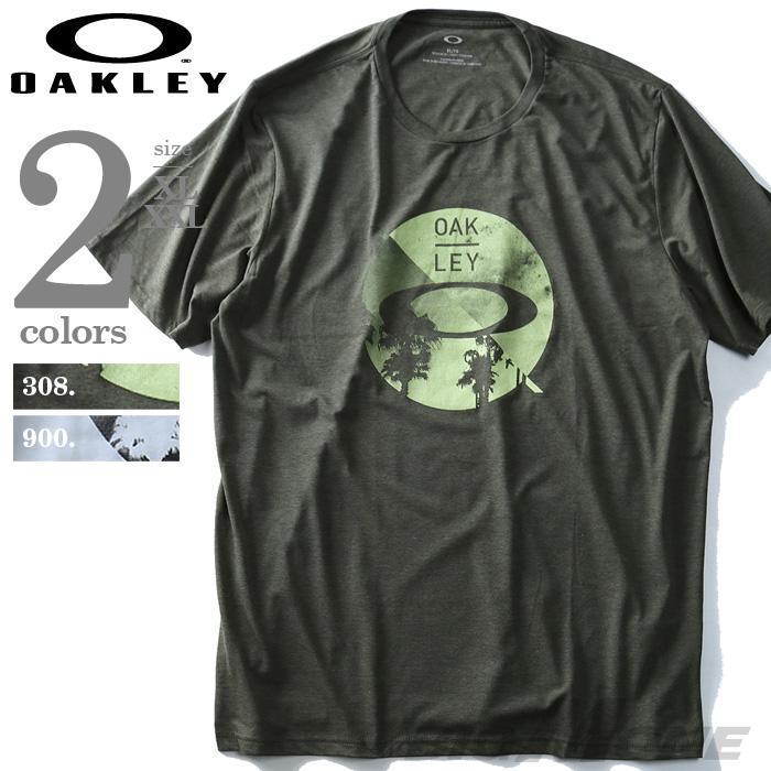 【大きいサイズ】【メンズ】OAKLEY(オークリー) 半袖プリントTシャツ【USA直輸入】oky457458ovt