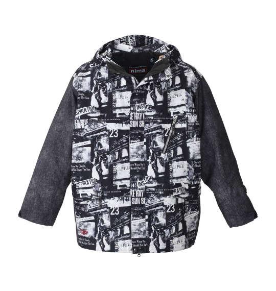 【大きいサイズ】【メンズ】 nima スノーボードジャケット フォト×ブラックデニム 1156-8320-1 [3L・5L・7L]