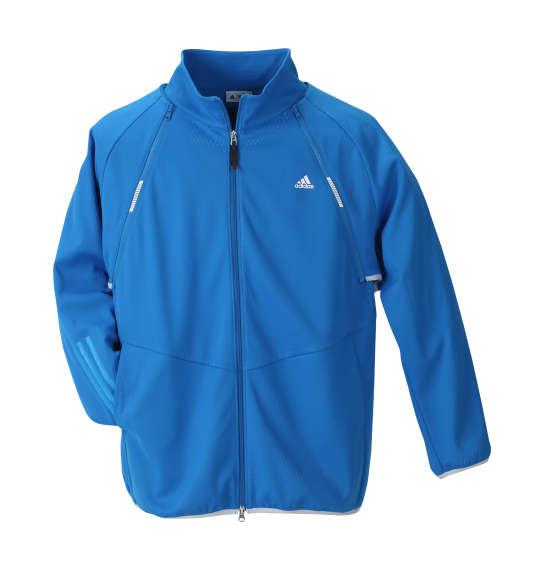 【大きいサイズ】【メンズ】 adidas golf ディタッチャブルジャケット ブライトブルー 1173-8350-1 [4XO・5XO・6XO・7XO]