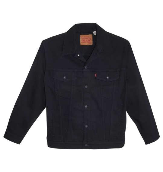 【大きいサイズ】【メンズ】 Levi's トラッカージャケット ブラック 1173-9130-1 [2XL・3XL・4XL・5XL]