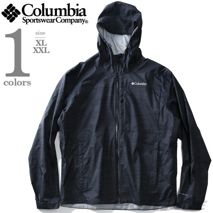 大きいサイズ メンズ Columbia コロンビア フード付 ナイロン ジャケット USA直輸入 xo0683