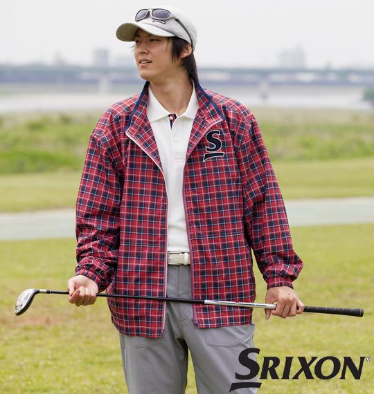 大きいサイズ メンズ SRIXON 撥水ジャケット レッド 1173-2350-1 [3L・4L・5L・6L]