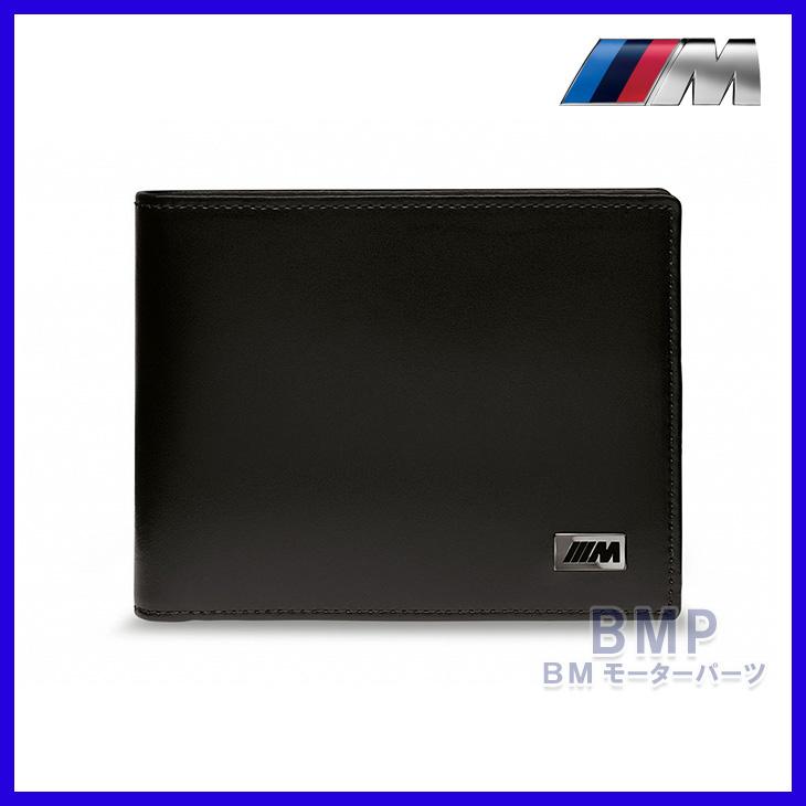 BMW 純正 Mコレクション Mウォレット カードポケット付き 本革 レザー