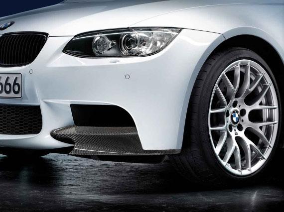 BMW Performance パーツ 3シリーズ E90 E92 M3 カーボン フロント スプリッターセット パフォーマンス