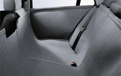 BMW アクセサリー BMW F10 F11 5シリーズ用 ユニバーサル リヤ シートカバー