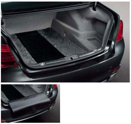 ラゲージルーム フロアマット サキソニーロイヤル マット 7シリーズ用 純正 BMW G12 G11 グレー&ブラック