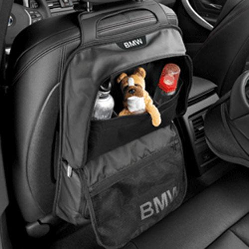 BMW インテリア アクセサリー シートバック ストレージ ポケット ブラック Standard
