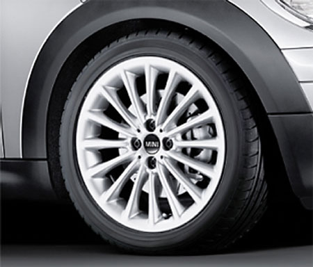 BMW MINI アルミホイール 7X17 ET48 マルチ スポーク R108 R50 R52 R53 R55 R56 R57 R58 R59