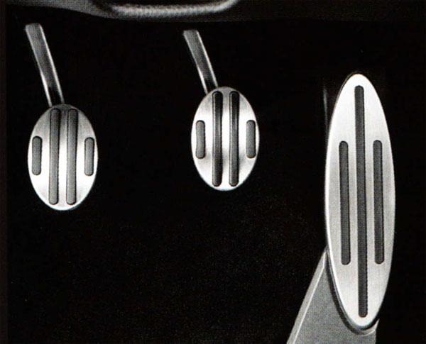 BMW MINI MT車用 ステンレス ペダルカバー セット