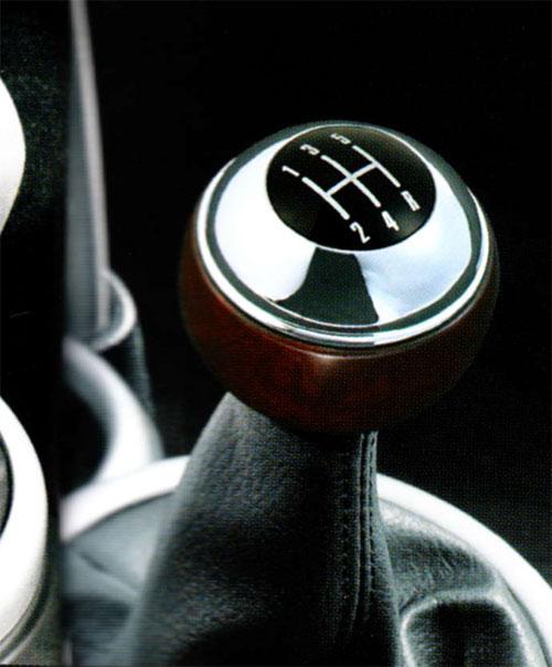 BMW MINI アクセサリー R50 R52 前期 ONE.COOPER 5速 M T用 シフトノブ ウッド