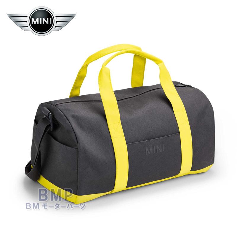 BMW MINI 純正 MINI COLLECTION ダッフル バッグ グレー レモン