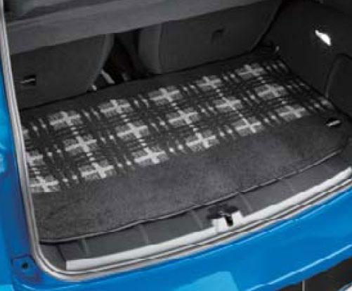 BMW MINI 純正 R60 CROSSOVER ラゲージ カーペット マット セット シャギー クラシカル モダン ブラック グレー