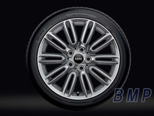 BMW MINI 純正 アルミホイール テンタクル スポーク500 シルバー 7J×17 アロイ ホイール 単体 1本
