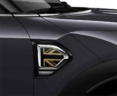 BMW MINI 純正 F60 CROSSOVER 用 サイド スカットル トリム GOLD JACK