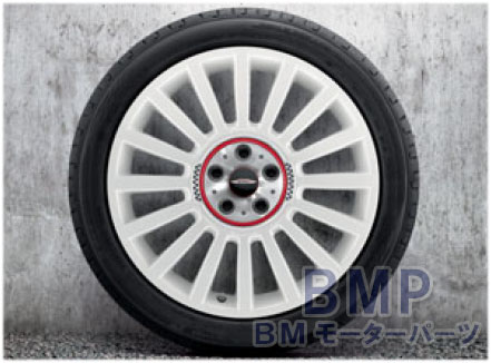 BMW MINI 純正 F60 CROSSOVER アルミホイール JCW ラリー スポーク536 アルピン ホワイト 8J×19 アロイ ホイール 単体 1本