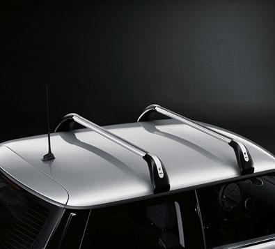 ルーフキャリア 用 ルーフレール無し R55 MINI 純正 BMW CLUBMAN ベースサポート プロテクションフォイル付き