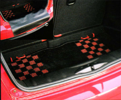Bmp Mini R56 Hatchback R58r59couperoadster Luggage Carpet Mat