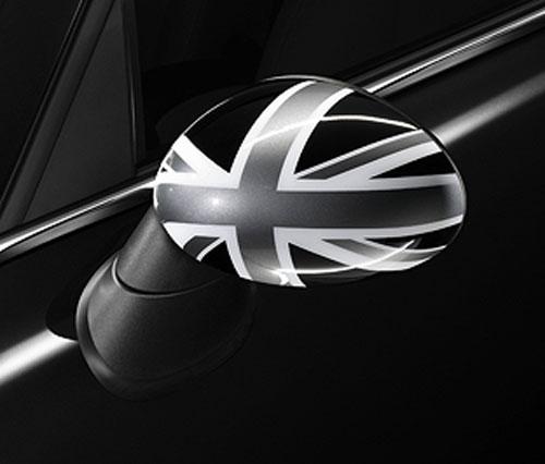 """BMW MINI アクセサリー MINI R56/R57/R55/R58/R59/R60用 ミラーカバーセット""""BLACK JACK"""""""