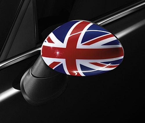 """BMW MINI アクセサリー MINI R56/R57/R55/R58/R59/R60用 ミラーカバーセット""""UNION JACK"""""""