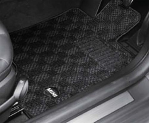 MINI サキソニー セット DOOR F55 5 純正 フロアマット BMW スポーツ 用