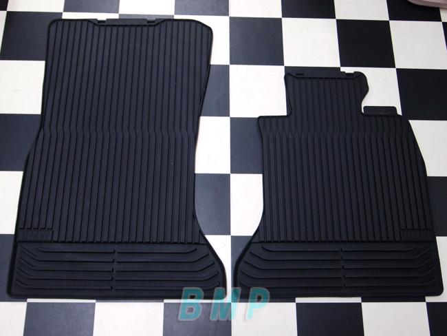 5シリーズ 純正 フロントセット スタイル ブラック フロアマット 右ハンドル用 オールシーズン BMW F10 ROW F11 フロアマット